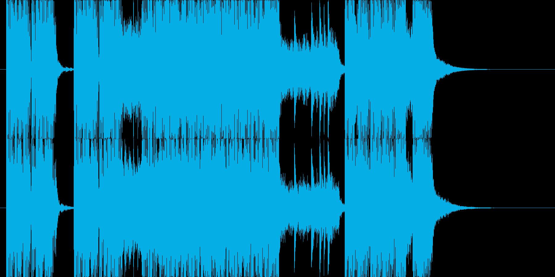 剛鉄!メタル系ジングルの再生済みの波形