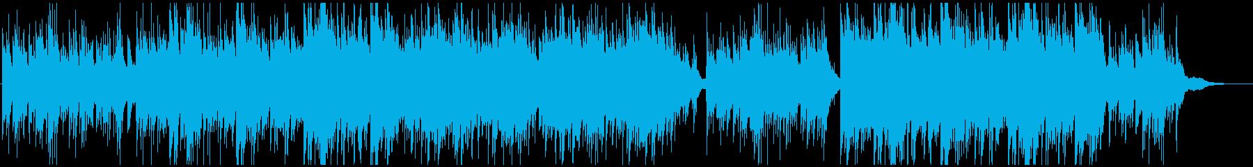 感動映像用ピアノとギターで明るく切ないの再生済みの波形