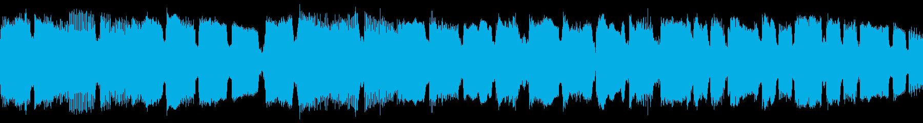 ダークな雰囲気のカントリーロックの再生済みの波形