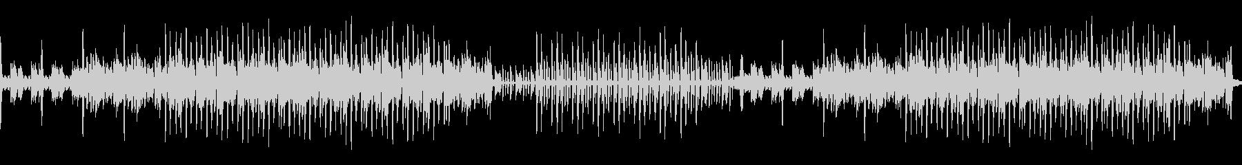シンプルでダークなエレクトロニカ系BGMの未再生の波形