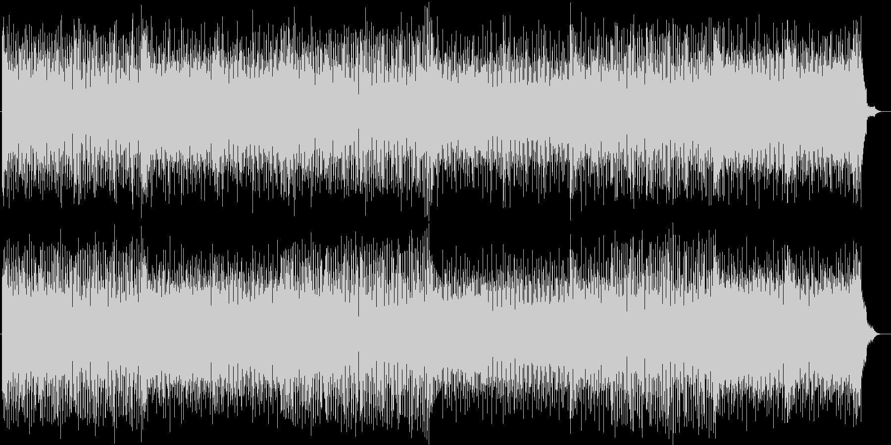 コード弾きが展開されるポップなシンセ曲の未再生の波形