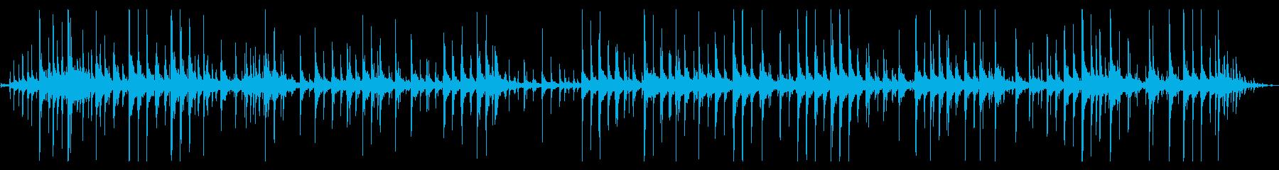 ダーク 不穏 暗い雰囲気 トイピアノの再生済みの波形