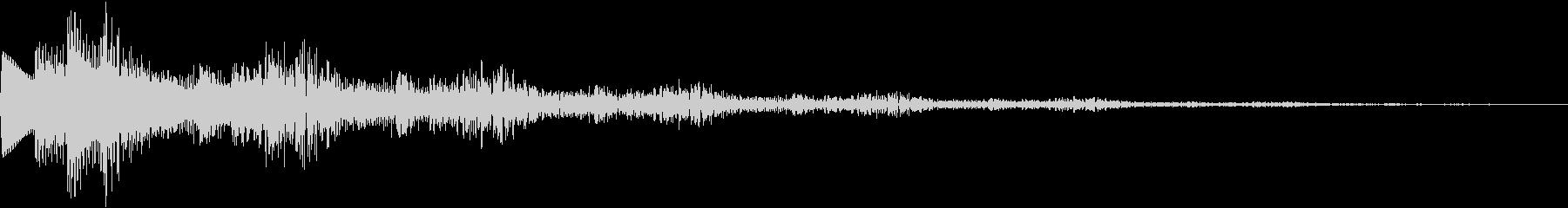 決定音/ボタン/システム/シンプル A4の未再生の波形