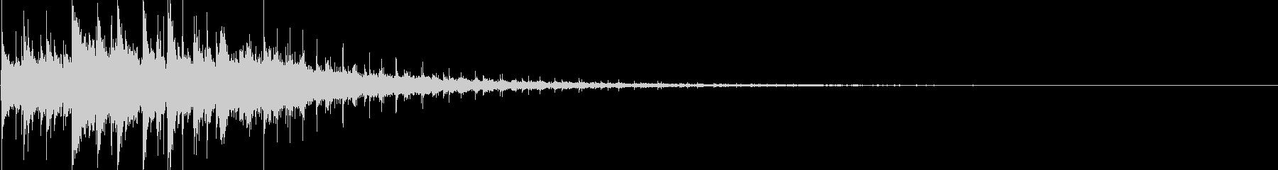 サスペンス/ミステリーME タララン8の未再生の波形