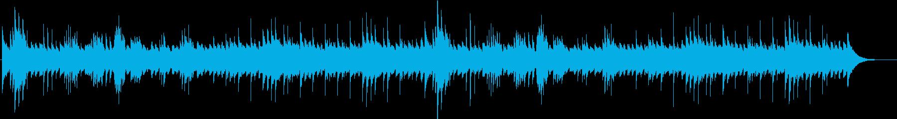 魔法の館の再生済みの波形