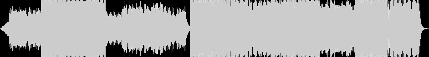 プログレッシブとメロディック。簡単です。の未再生の波形