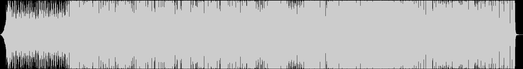 ファンキーエレクトロの未再生の波形