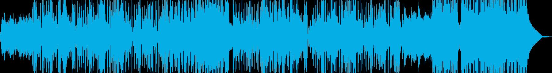 新鮮な空気感を演出・クールビート B2の再生済みの波形