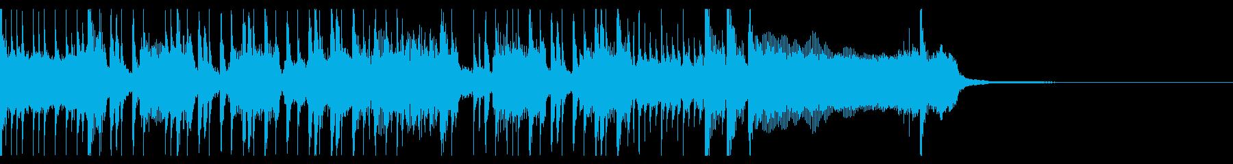 エネルギッシュなパンクの再生済みの波形