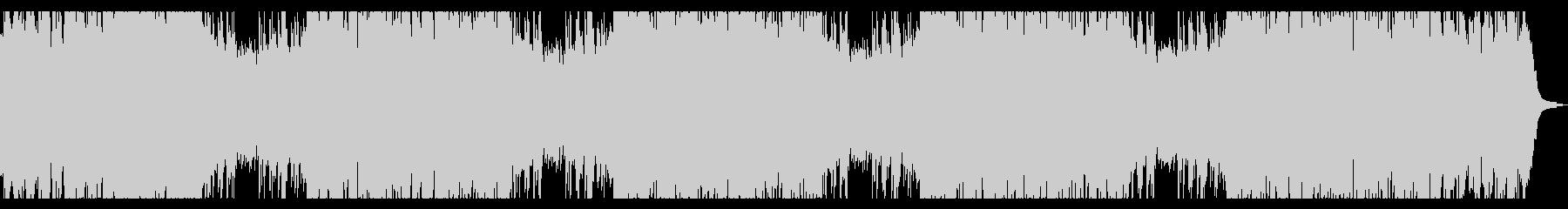 ピアノとチェロのアンビエント ロングの未再生の波形