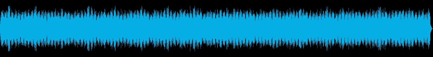 不思議系・説明系の映像に合うスローBGMの再生済みの波形