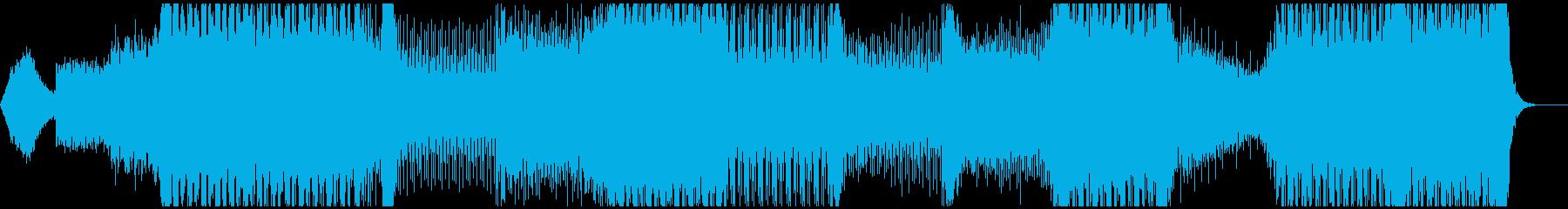 クールなデジタルミュージック、OP系の再生済みの波形