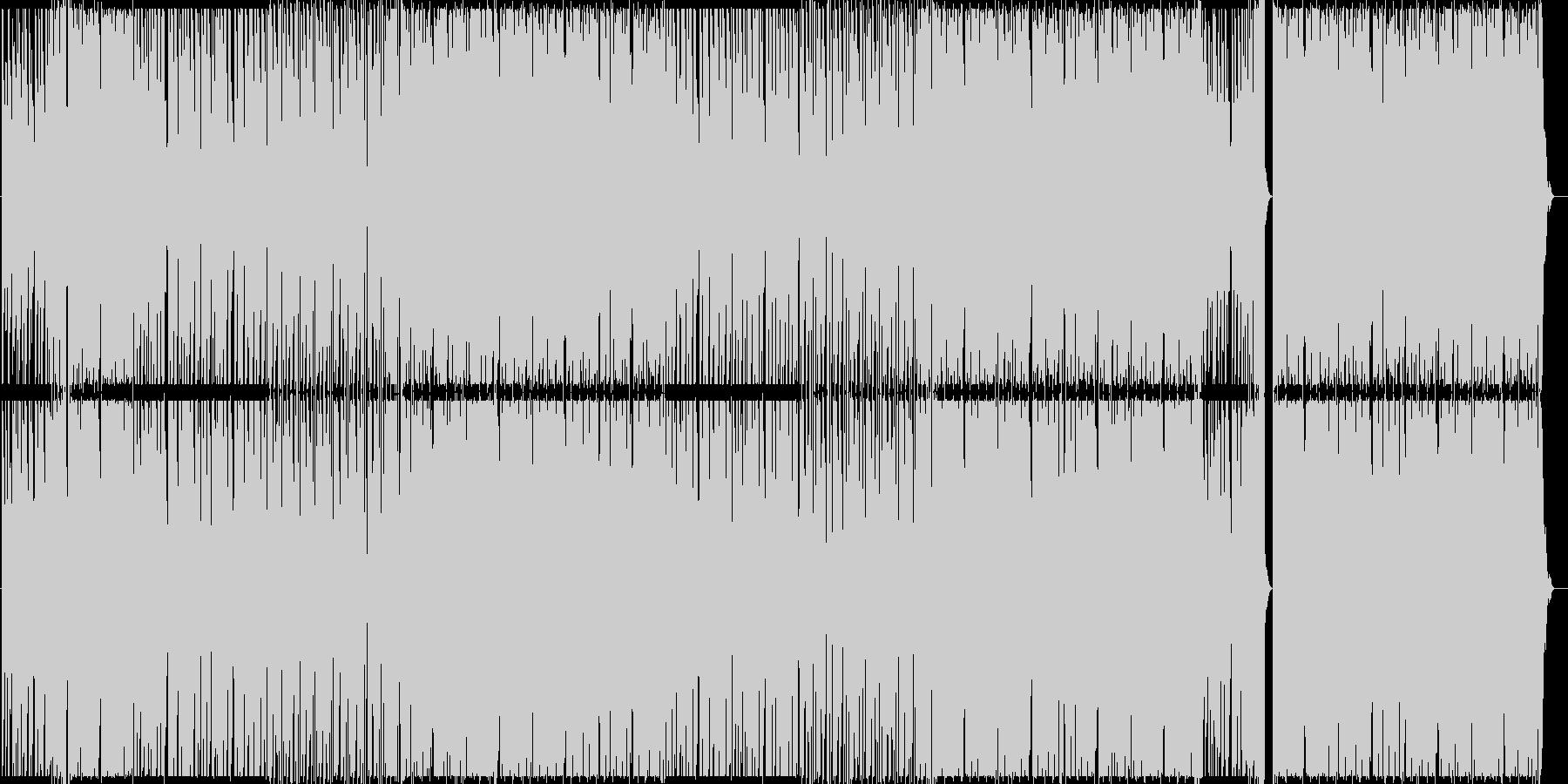 ヒップホップ/ブラス/ストリングス/#1の未再生の波形