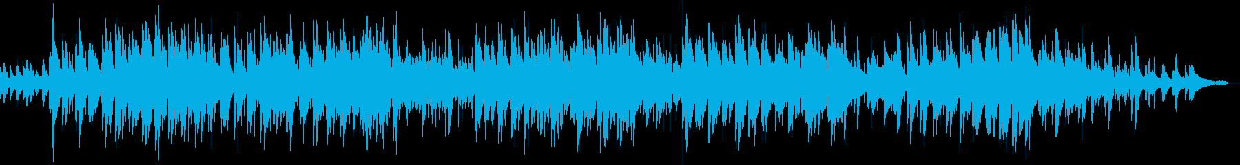 夕暮れをイメージした癒されるピアノ曲の再生済みの波形