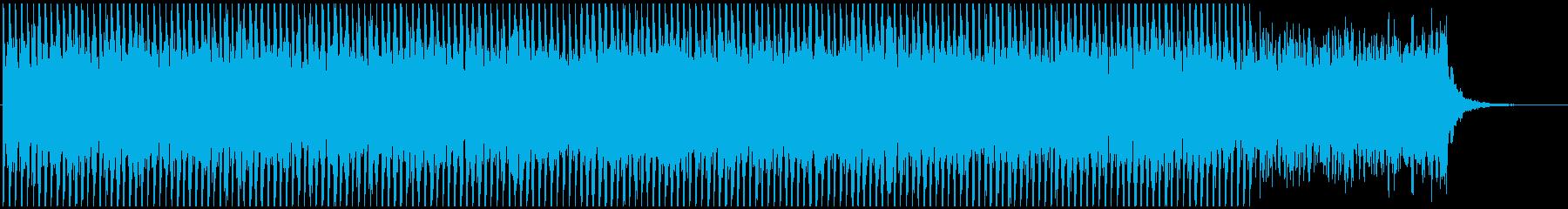 映像向けテクノ系BGM(シンプルver)の再生済みの波形