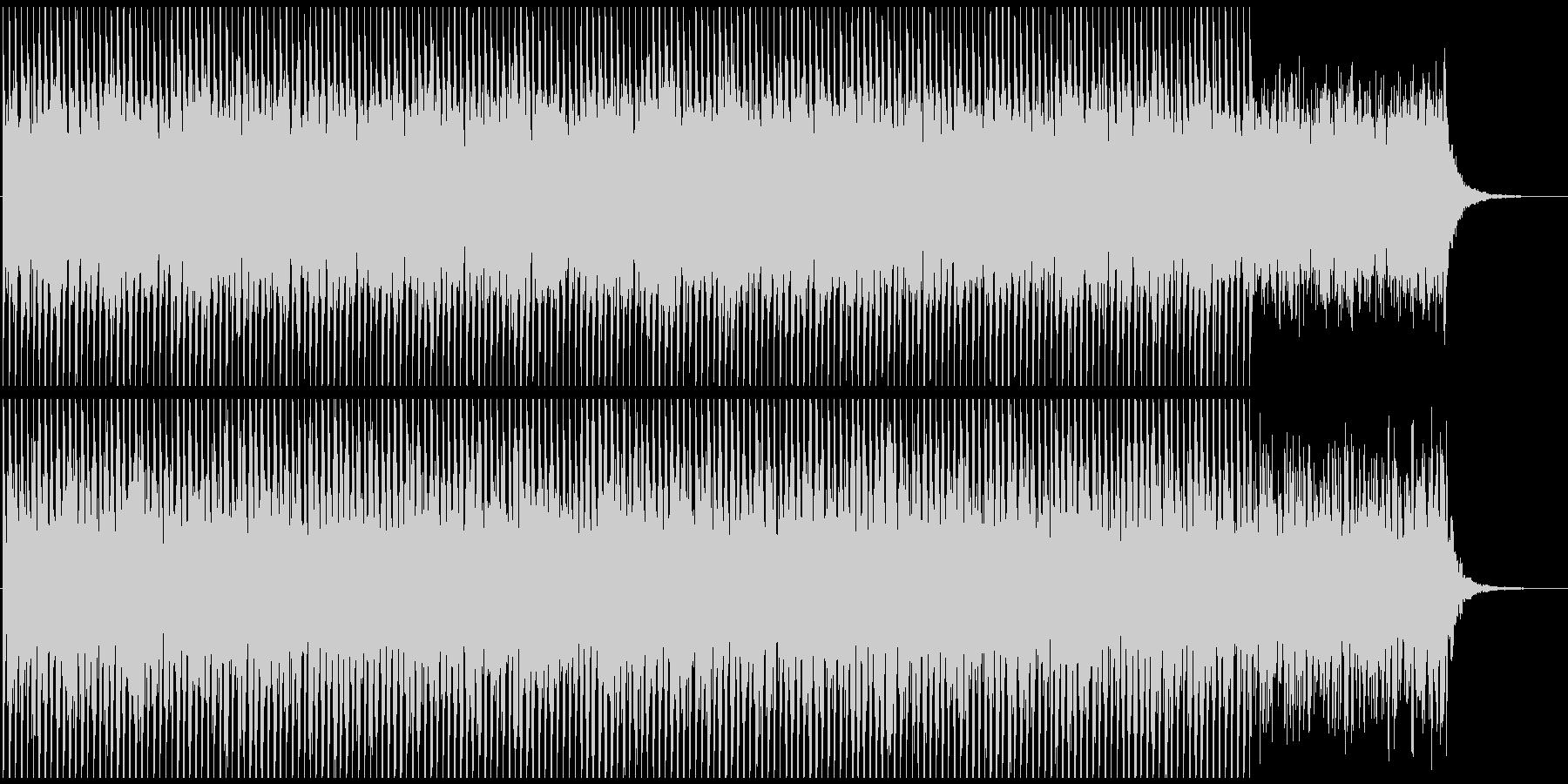 映像向けテクノ系BGM(シンプルver)の未再生の波形