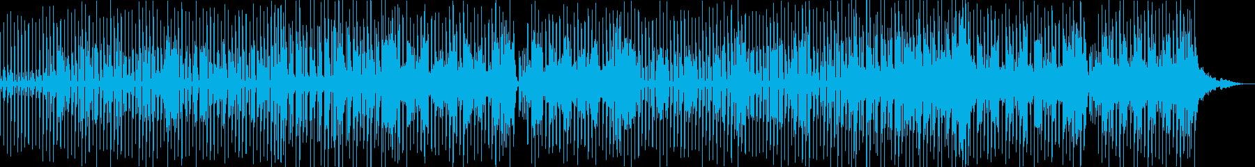 哀愁感じるレゲエの再生済みの波形