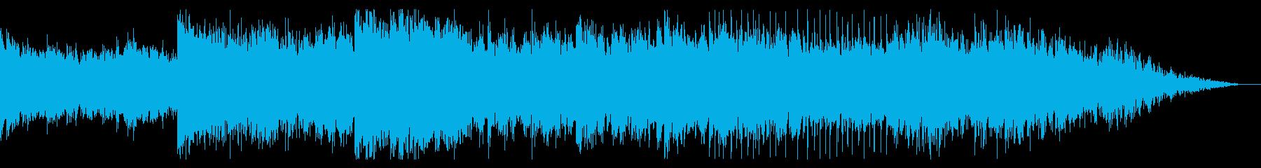 オーガニックでグリッジなアンビエントの再生済みの波形