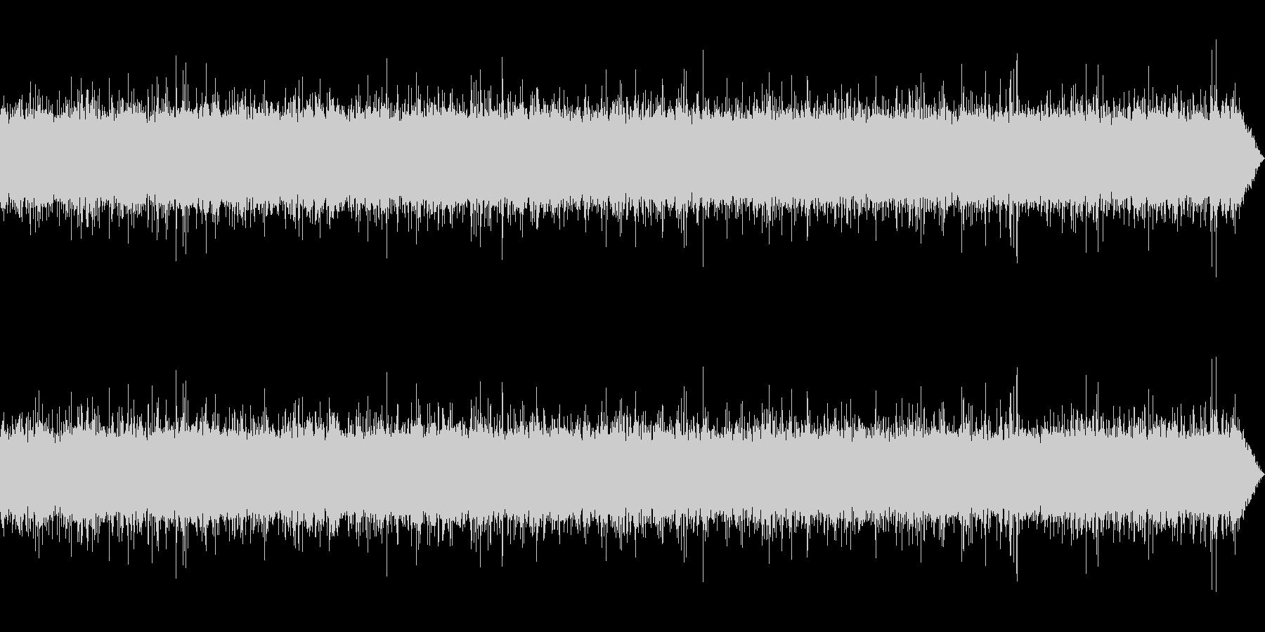 [生録音]渓流、河川の流れる音01-1の未再生の波形