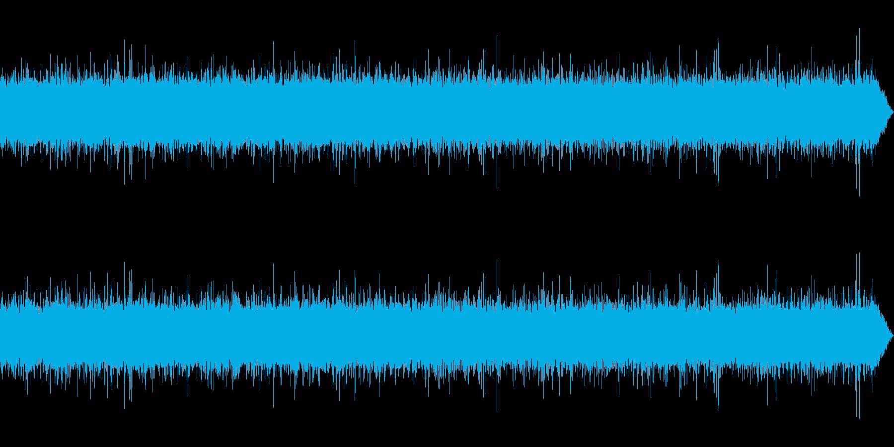 [生録音]渓流、河川の流れる音01-1の再生済みの波形