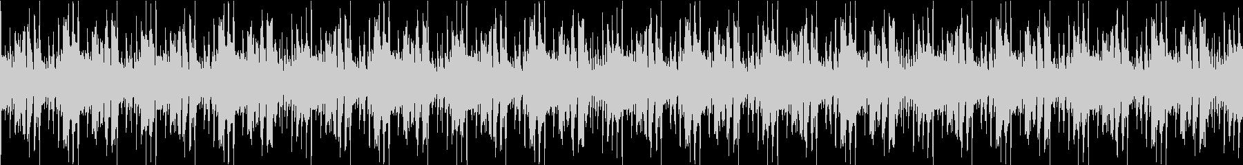 ループ可能なラテン風音源の未再生の波形