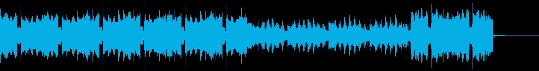 ヴォイス入り ノリがよくクールなビデオにの再生済みの波形