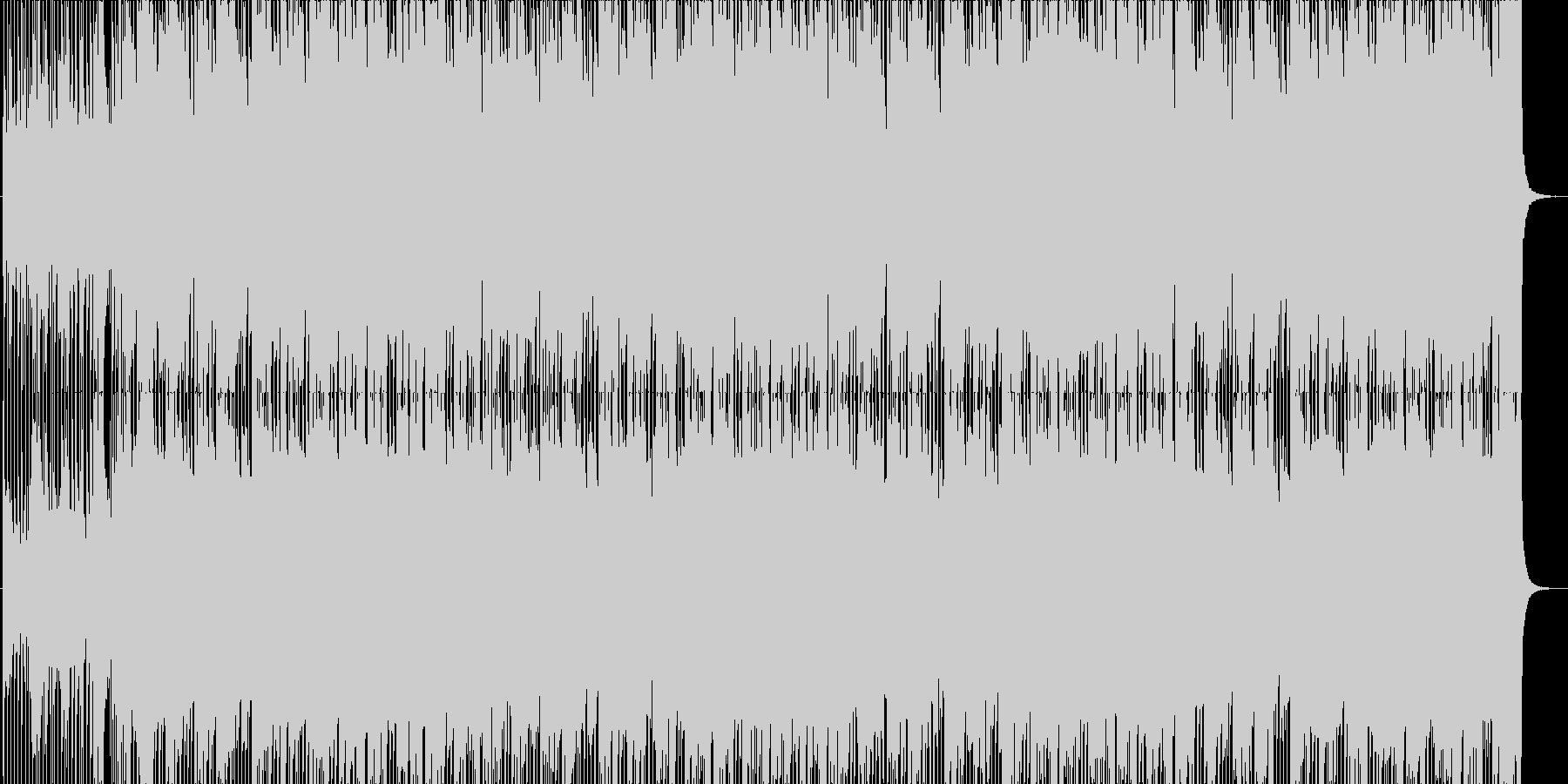 疾走感ある爽やかロック☆メロ有・長尺の未再生の波形