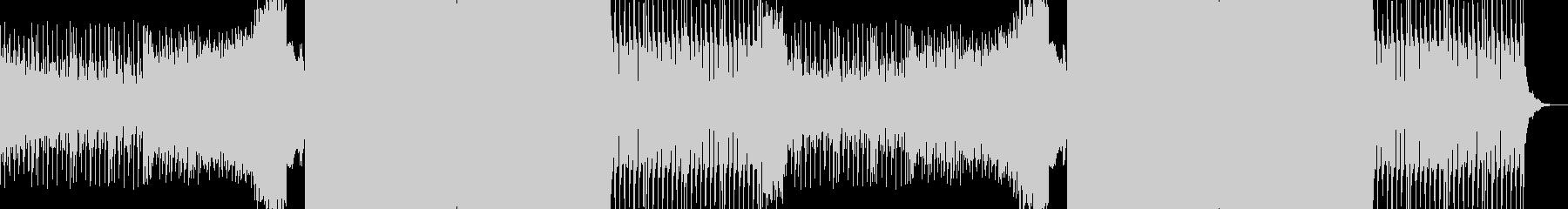 ノリノリで聴けるダンスナンバー系EDMの未再生の波形