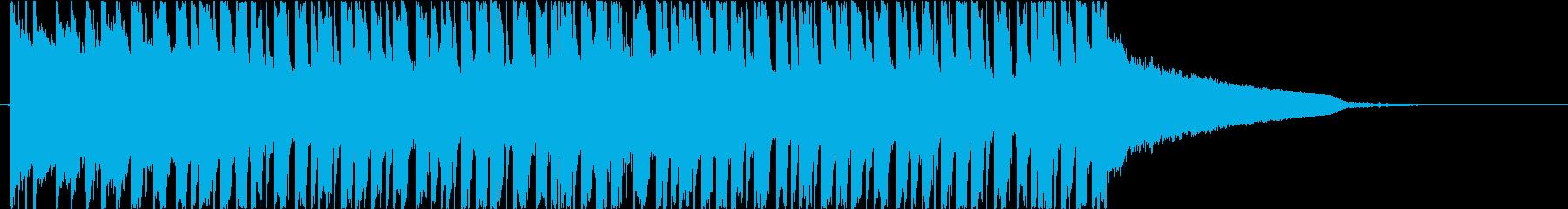トロピカルハウス 夏 爽やかの再生済みの波形