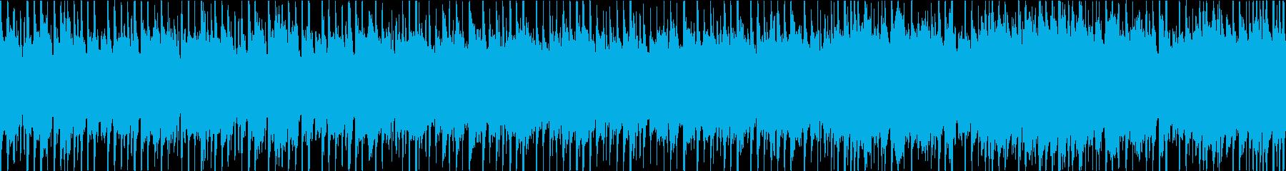和楽器等を使った和風ミドルバラードの再生済みの波形