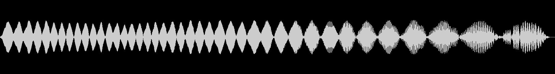 電子パルス2の未再生の波形