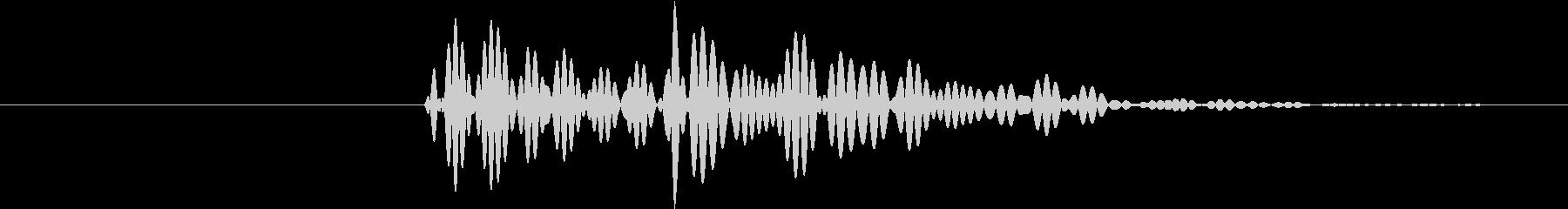 ポロン③(キャンセル・テロップ・通知音)の未再生の波形