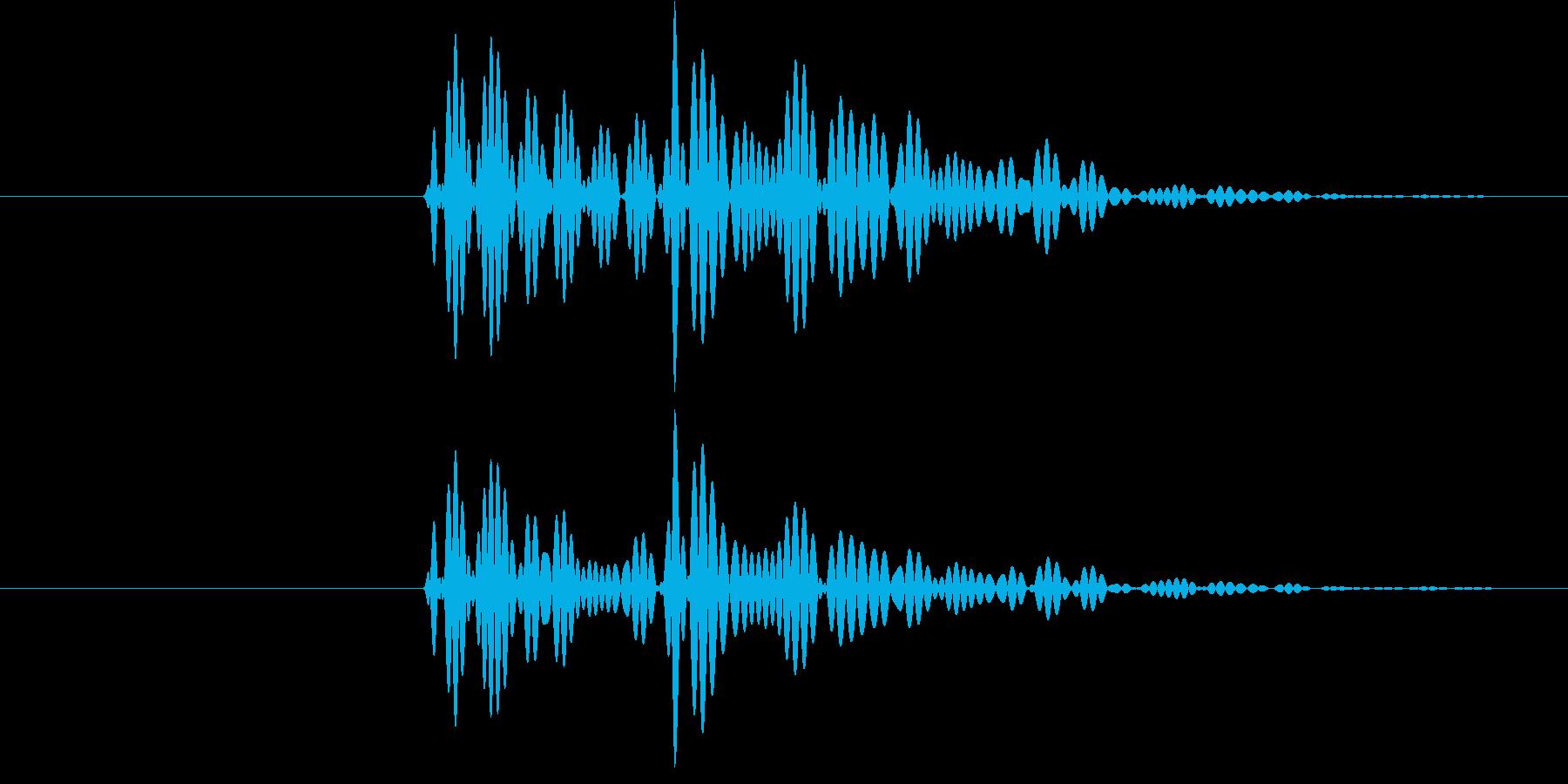 ポロン③(キャンセル・テロップ・通知音)の再生済みの波形