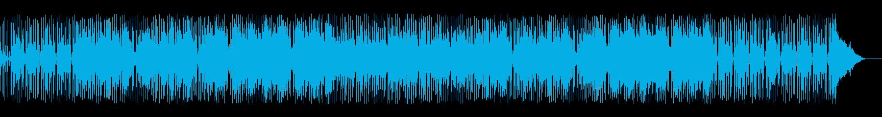 まったりムーディーなレゲエ系ポップスの再生済みの波形
