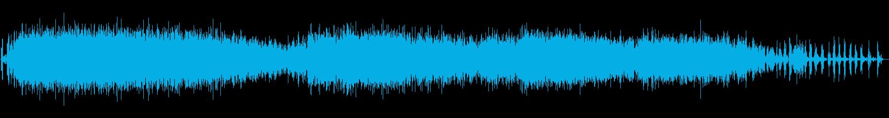 ガラガラヘビ、ウエスタンダイヤモン...の再生済みの波形