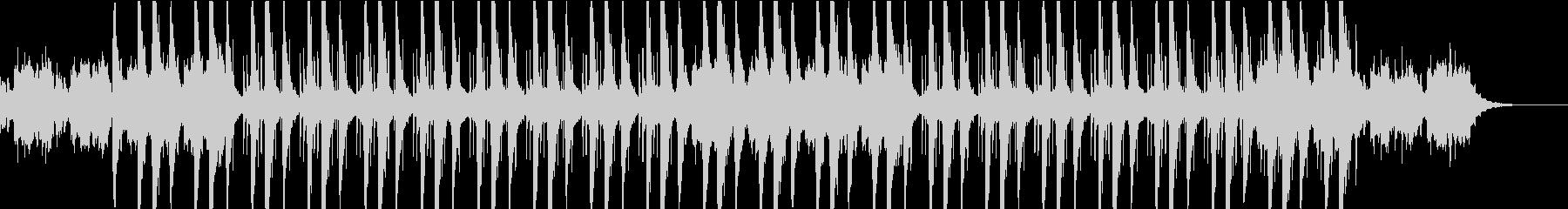 静かで落ち着くチル・ヒップホップの未再生の波形