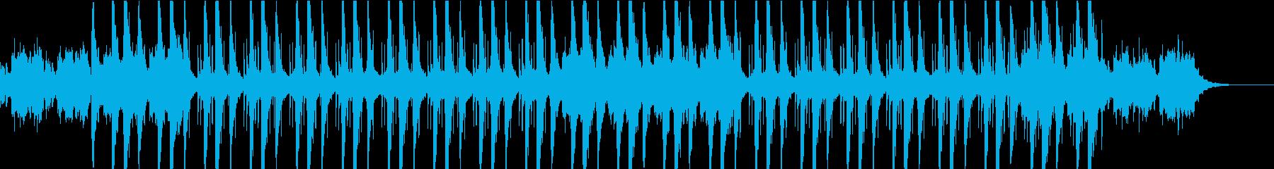 静かで落ち着くチル・ヒップホップの再生済みの波形