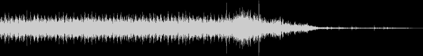映写機の音_停止音の未再生の波形