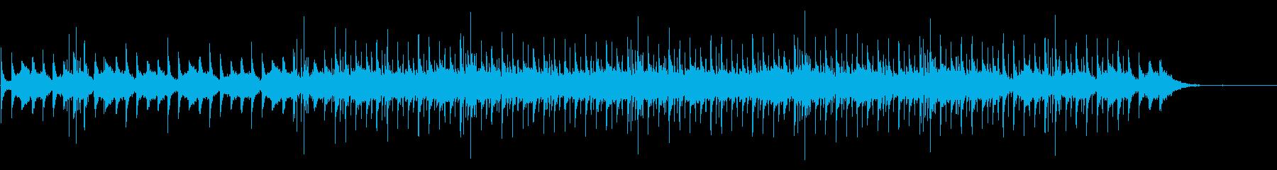箏とシンセの小編成インスト曲の再生済みの波形