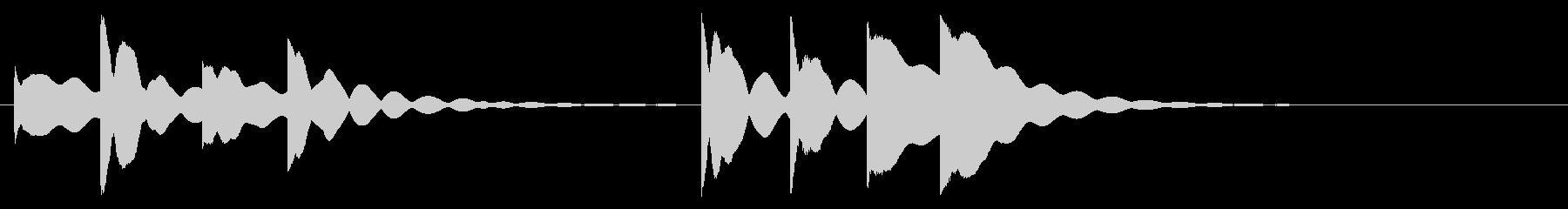 ハンドベル1;小さなハンドベルリン...の未再生の波形