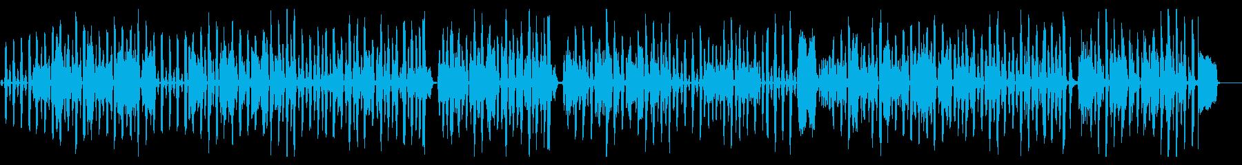 ほのぼの昭和レトロの再生済みの波形