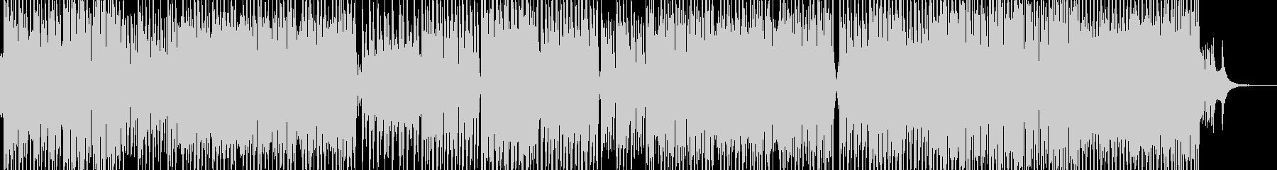 民族的で原始的なテクノポップ エレキ無Bの未再生の波形