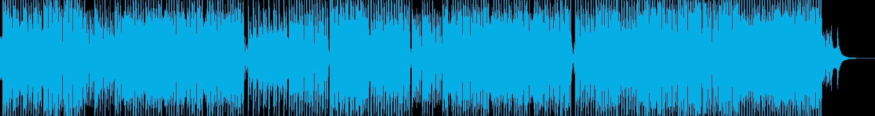 民族的で原始的なテクノポップ エレキ無Bの再生済みの波形