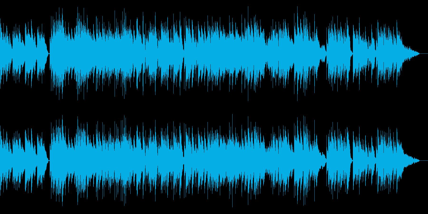 柔らかいギターの音色が感動的なサウンドの再生済みの波形