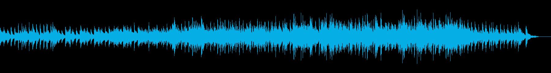 結婚式風BGMの再生済みの波形