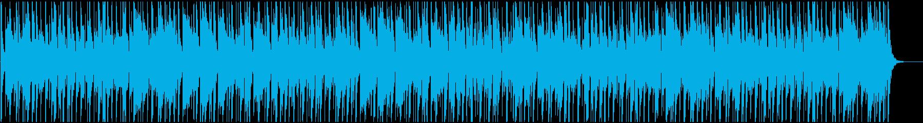 中テンポで軽快の再生済みの波形