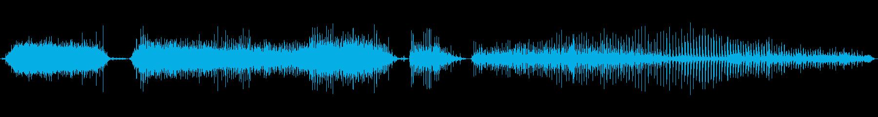 400人の拍手-短い-長い_の再生済みの波形