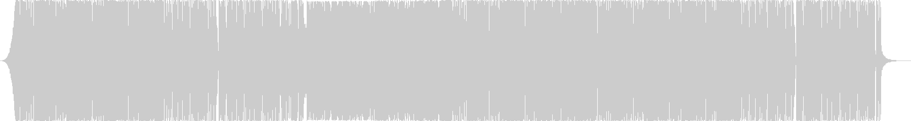 クラシカルな壮大でミステリアスなEDMの未再生の波形