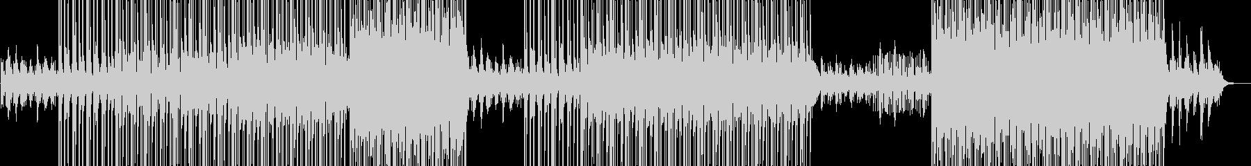 Hiphop/Pianoの未再生の波形