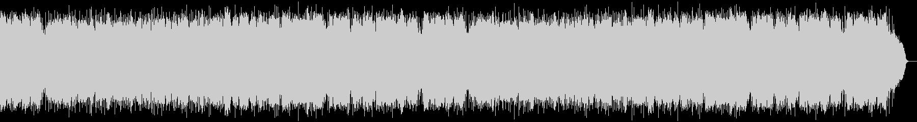 SAXが奏でるビギンのリズムの昭和歌謡の未再生の波形